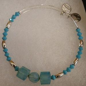 Alex and Ani Swarovski Crystal Bracelet